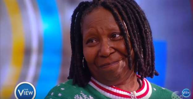 Whoopi Goldberg Brought to Tears After Receiving Honor on World AIDS Day (Video)