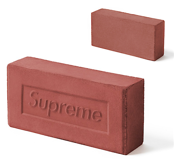 eaec730a1 Supreme Brick For The Discerning Collector