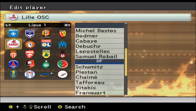 PES 6 Original Option File Season 2006/2007