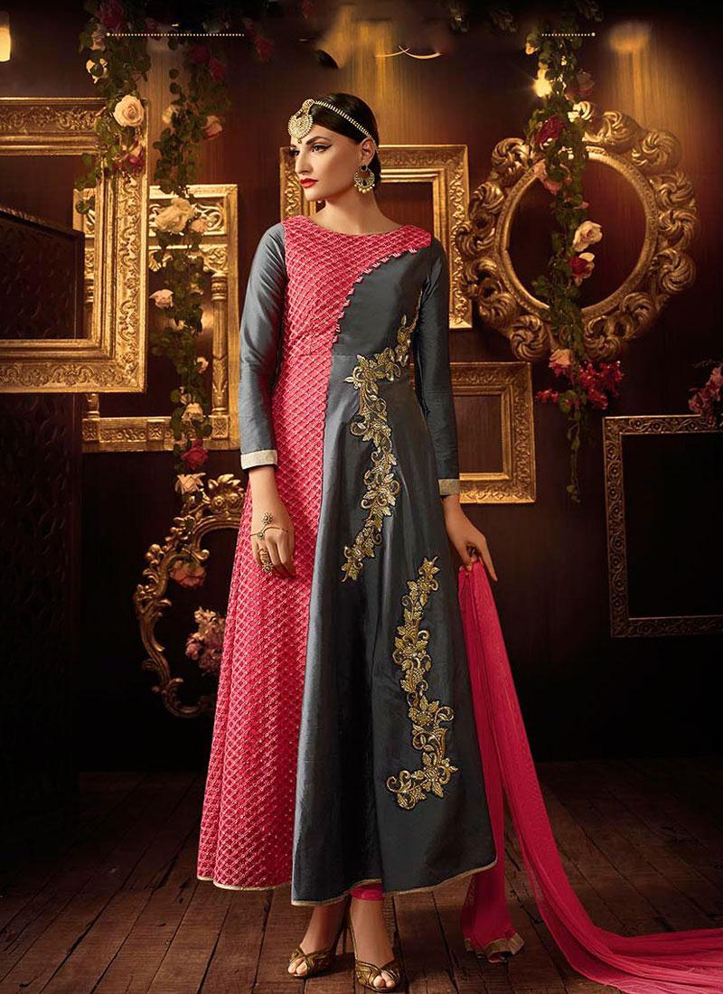 SDSK 2753 anarkali bridal suits, indian bridal anarkali suits ...