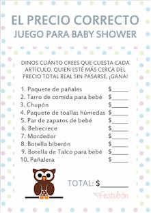 10 Juegos Para Baby Shower Originales Juegos De Baby Shower