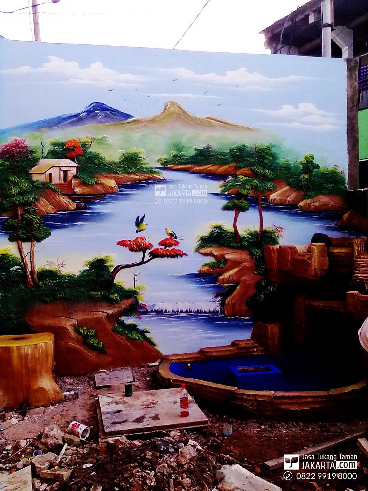 Jasa Taman Relif Bogor