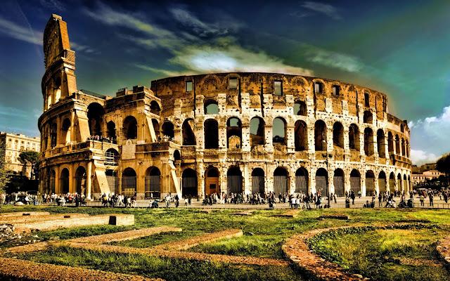 O Coliseo de Roma