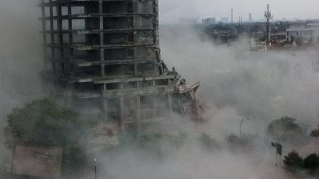 Gedung Roboh Di Bintaro Itu Terkenal Angker Oleh Masyarakat Setempat