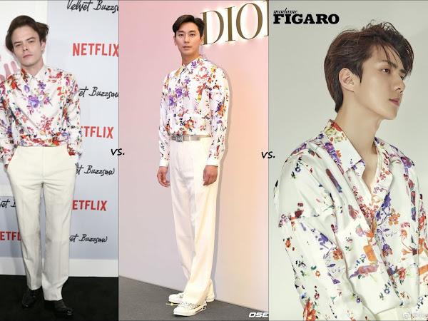 👔Charlie Heaton vs Joo Ji Hoon vs EXO's Sehun