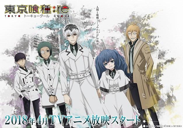 El ending de Tokyo Ghoul:re lo interpretará la banda Ziyoou-vachi