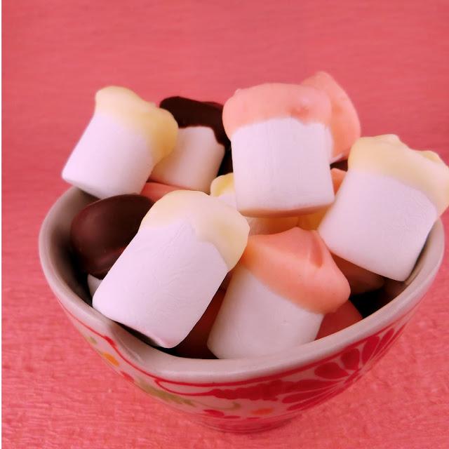 マシュマロとチョコレートだけで簡単アレンジ!カラフルレシピ
