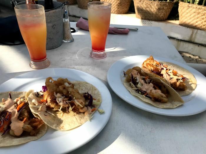 Cozumel - fish tacos