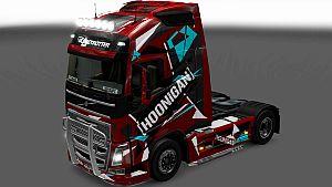 Hoonigan skin for Volvo 2012
