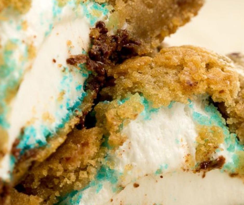 Peeps-Stuffed Chocolate Chip Cookies - food-drink-recipes.com