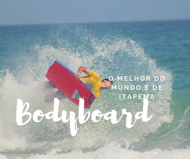 Bodyboard em Itapema o tricampeão é daqui