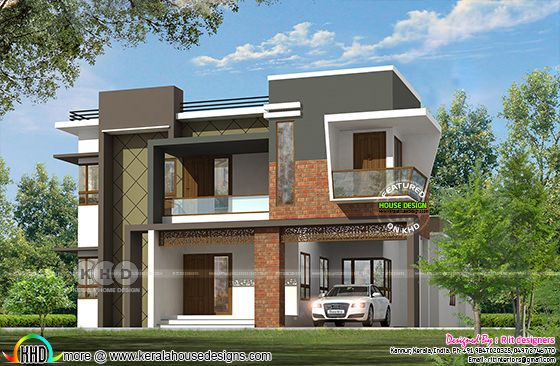 2797 square feet ₹58 lakhs modern home