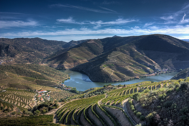 Wild Camping in Douro Valley, Portugal