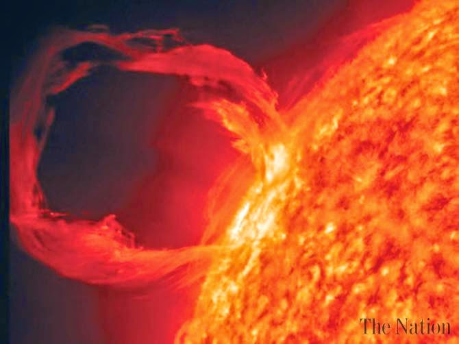 solar flare 2012 misses earth - photo #9