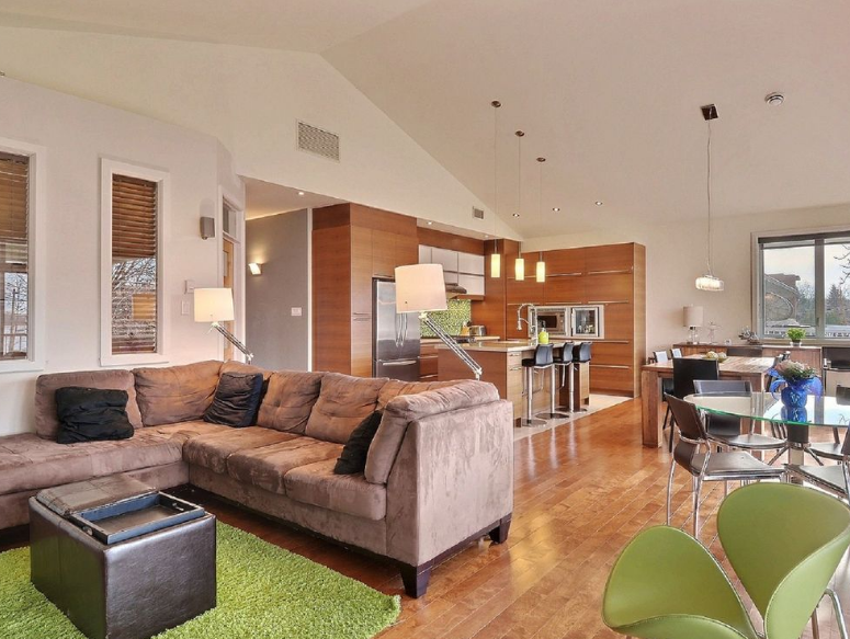 Desain Ruang Keluarga dan Dapur Jadi Satu