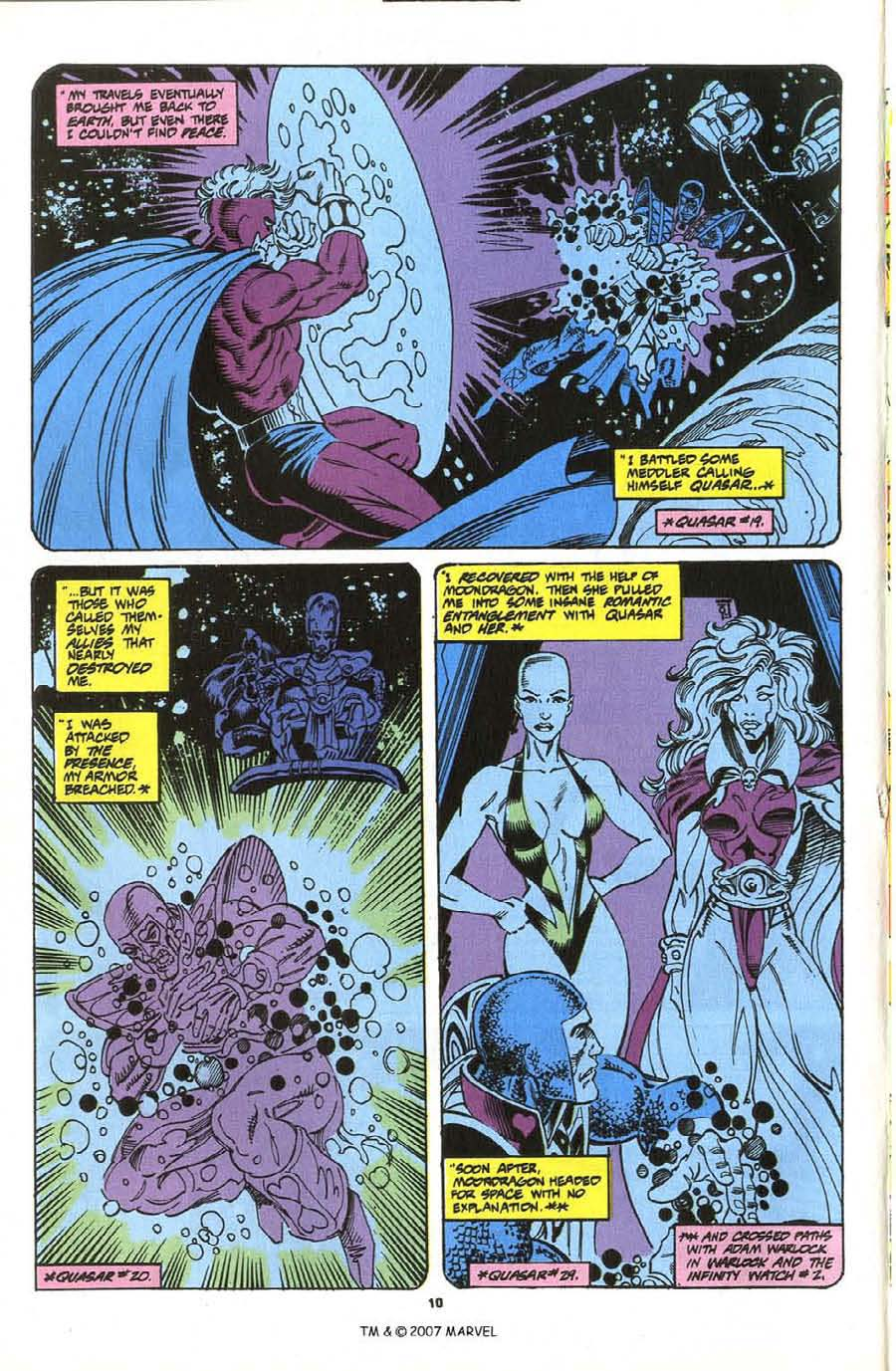 Read online Silver Surfer (1987) comic -  Issue #76 - 12