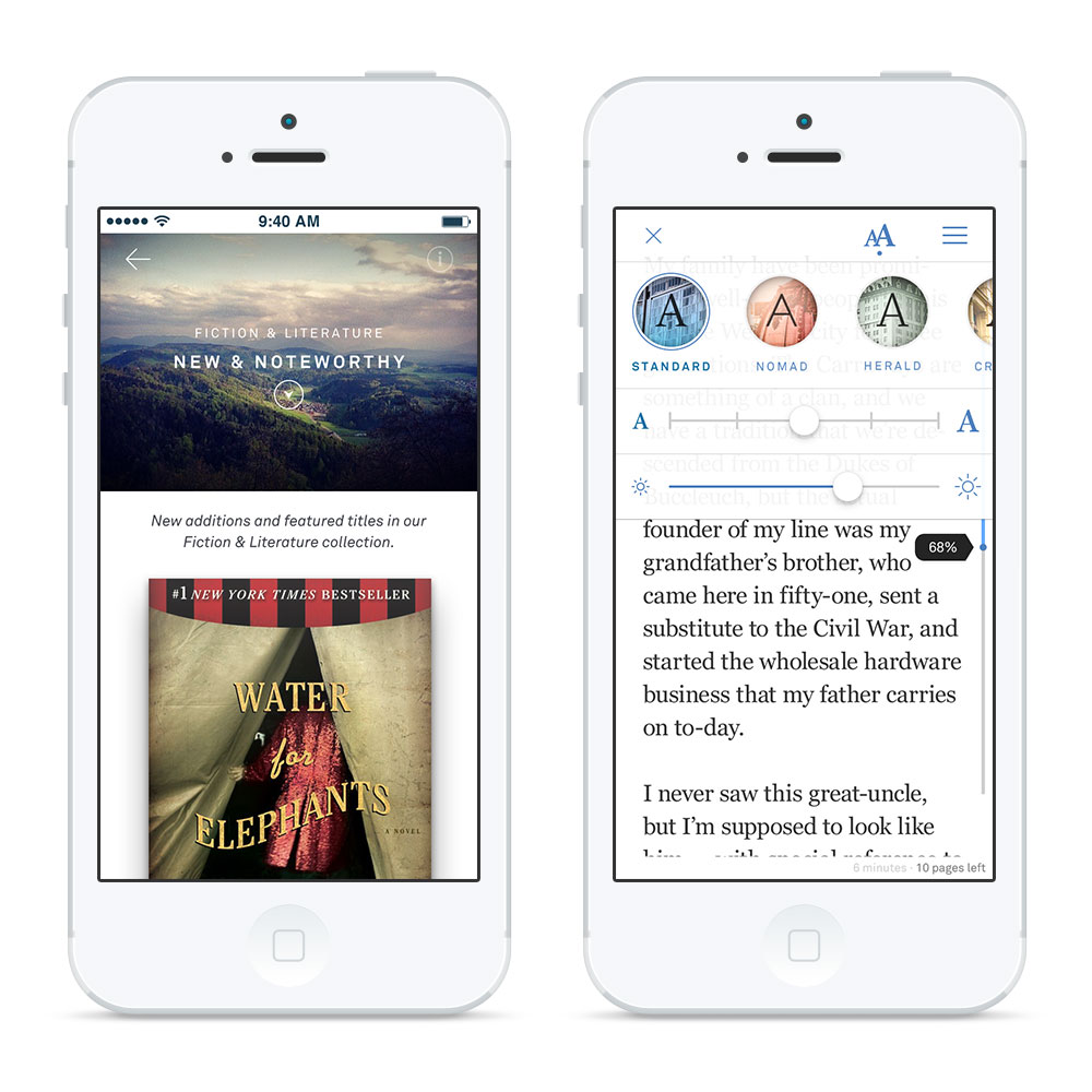 Oyster Books App