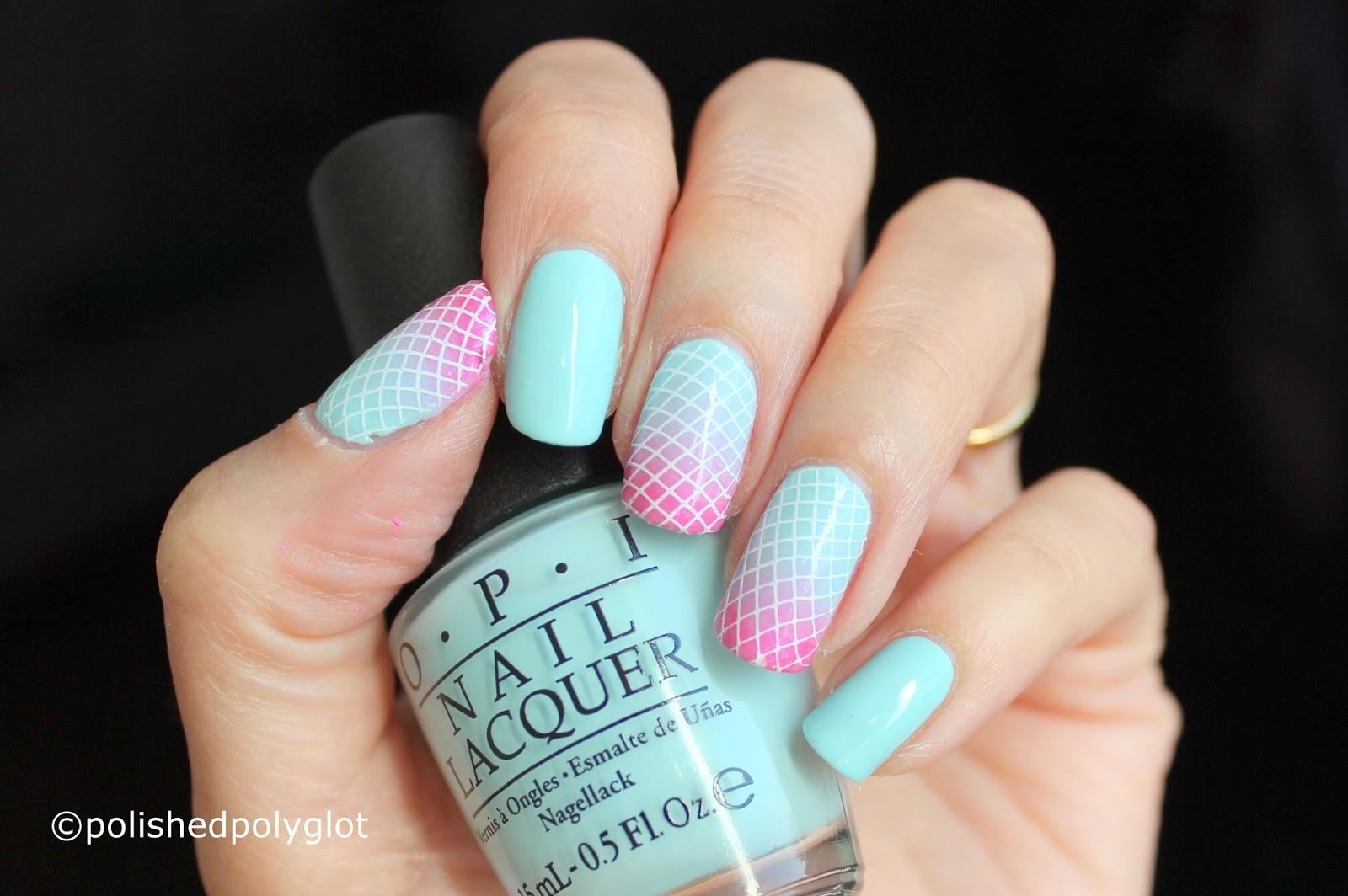 Nail art │ Pastel & bold nails for Spring [26GNAI] / Polished Polyglot