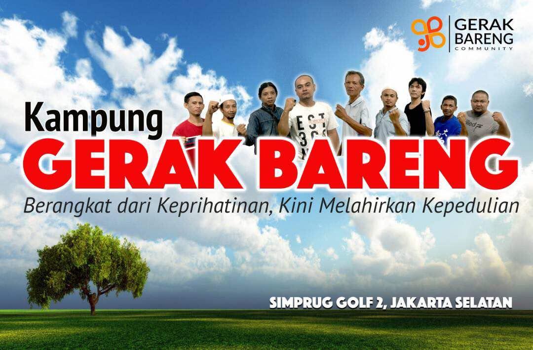 Launching Kampung Gerak Bareng (Simprug Golf 2)