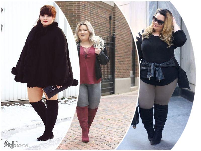 3 Outfits Con Botas Largas Para Gorditas Soñados