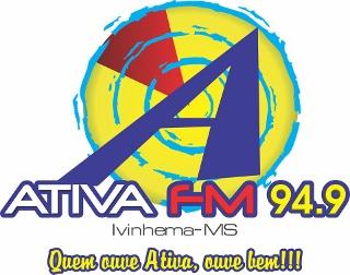 Rádio Ativa FM de Ivinhema MS ao vivo