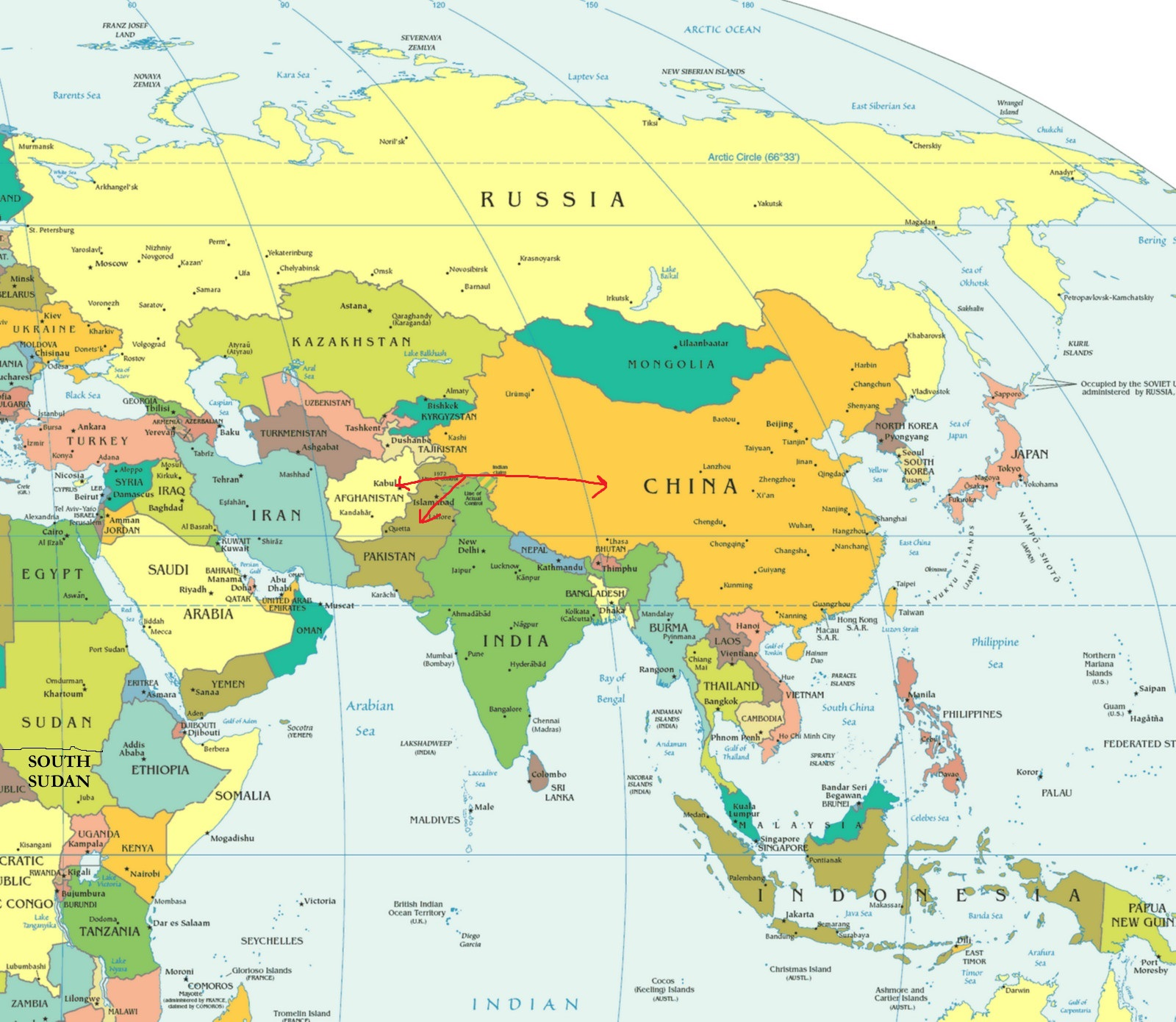 Global awareness 101 let your voice be heard and get involved will be part of chinas belt and road plan linking china with asia europe and beyond gumiabroncs Image collections