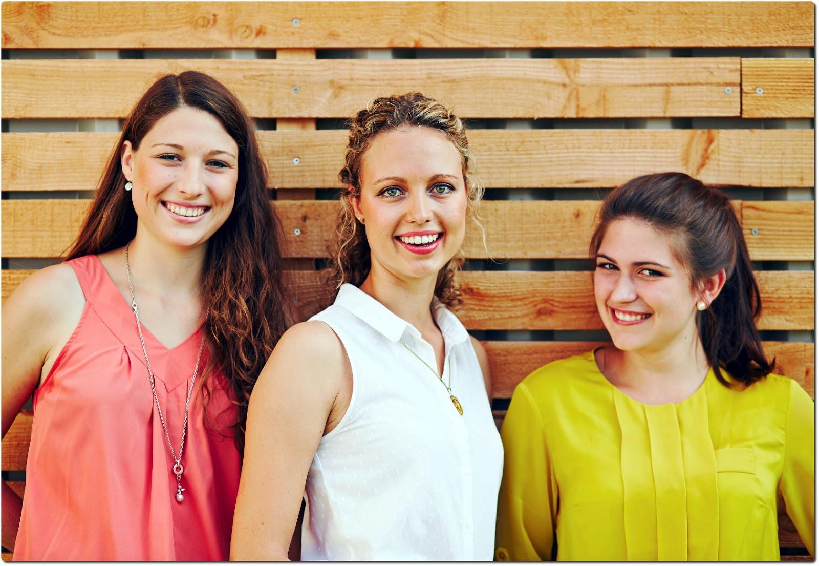 Die Kandidatinnen (v. l.): Laura Weber (Monzingen), Victoria Gaenz (Guldental) und Elisa Marie Reichardt (Weiler bei Monzingen)