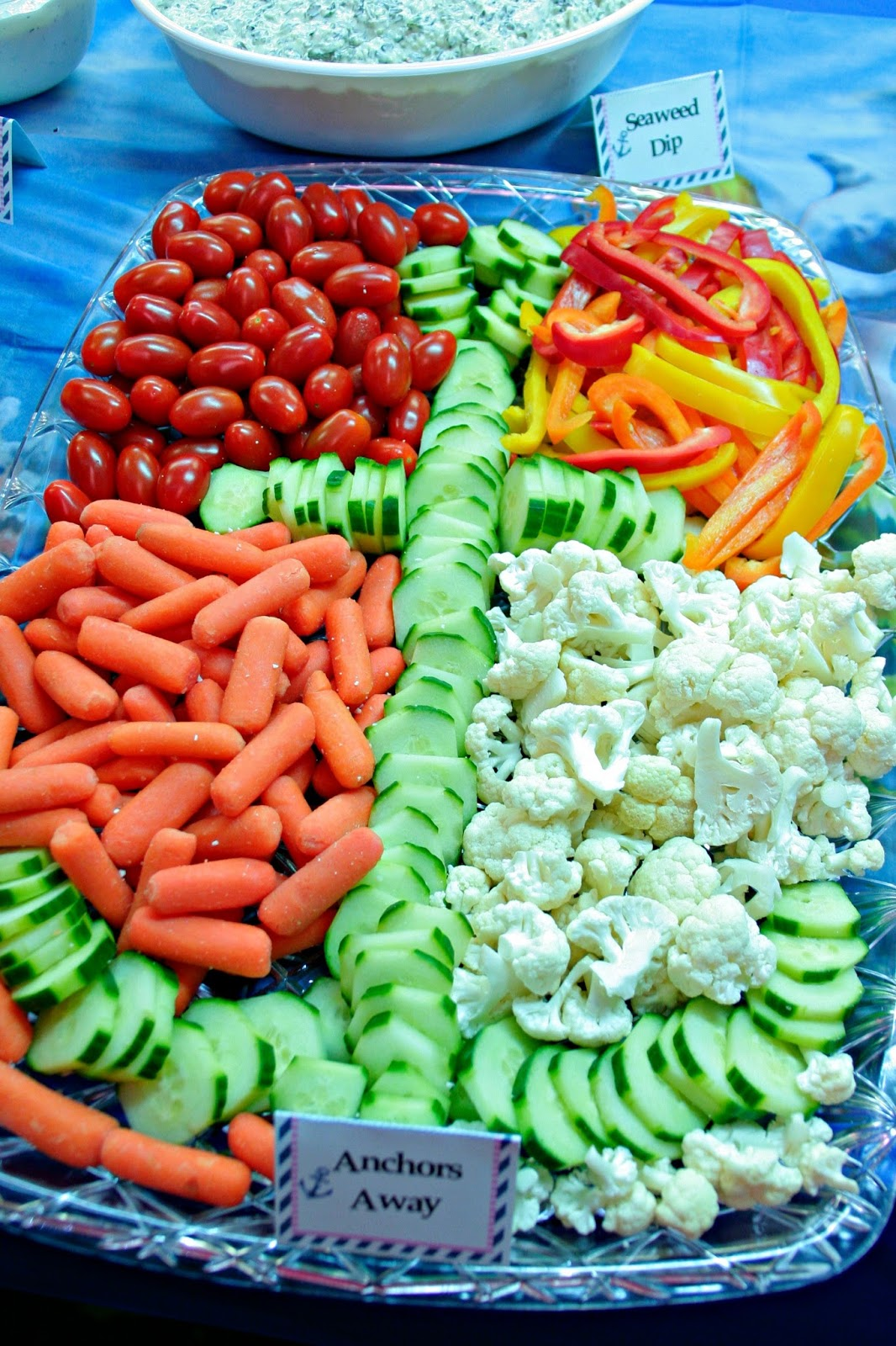 Baby shower food ideas for a boy
