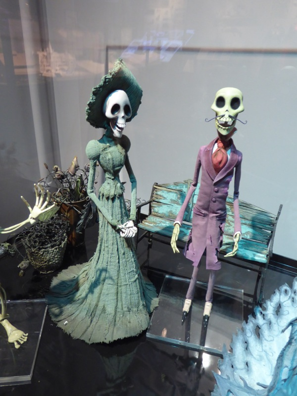 Corpse Bride undead stopmotion puppets