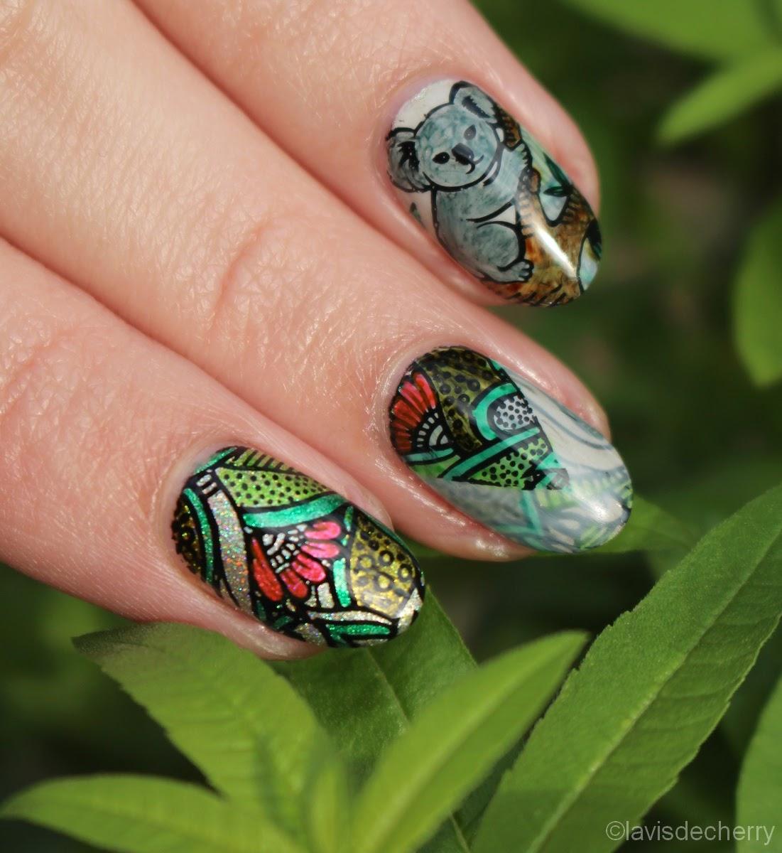 nail-art-stamping-coloriage-marqueur-pochoir-koala-bundle-monteur