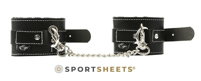 Sportsheets Edge Leather Wrist Cuffs at The Spot Dallas