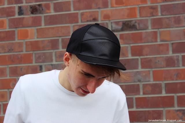 męska czapka bershka