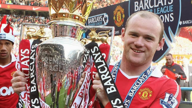 ผลการค้นหารูปภาพสำหรับ rooney 2010/2011 premier league champion