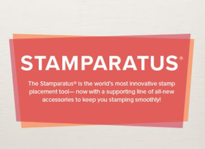 Visit the Stamparatus page on the Stampin' Up! store