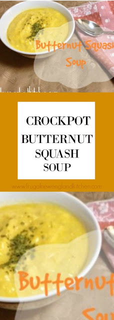 Crockpot Butternut Squash Soup Recipe