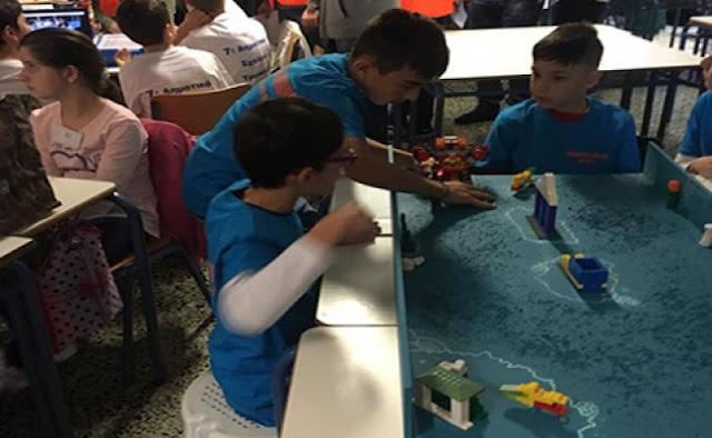 Συγχαρητήρια του Δημάρχου Άργους Μυκηνων στο 3ο Δημοτικό Σχολείο Άργους για την διάκριση στον Διαγωνισμό Ρομποτικής
