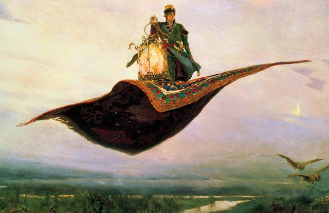 Arti Mimpi Terbang Melayang-layang Naik Pesawat Tanpa Sayap ke Awan