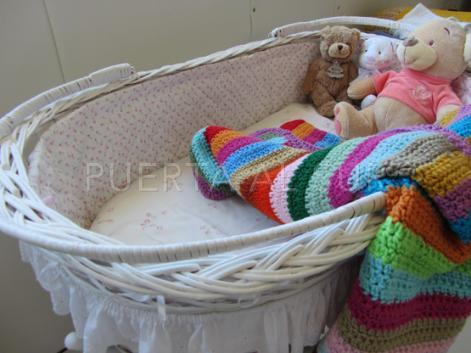 fotg1 211 - Mantas para bebe tejidas a crochet para la cuna