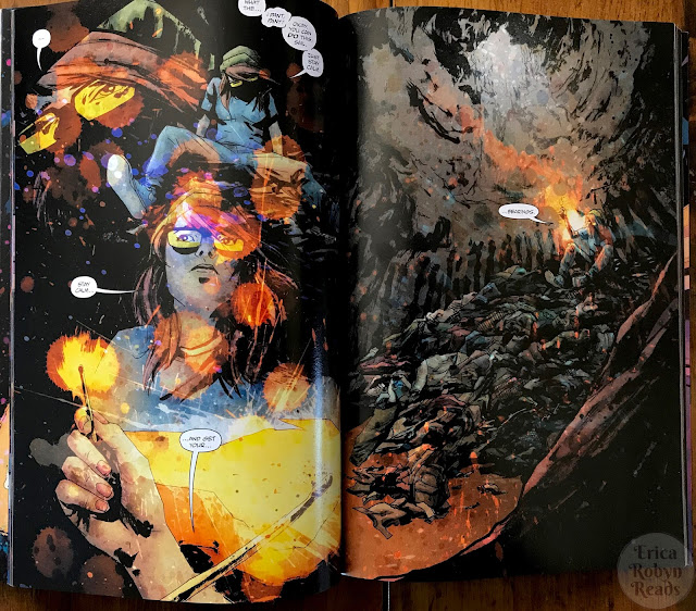 Wytches Vol 1 by Scott Snyder panel color example