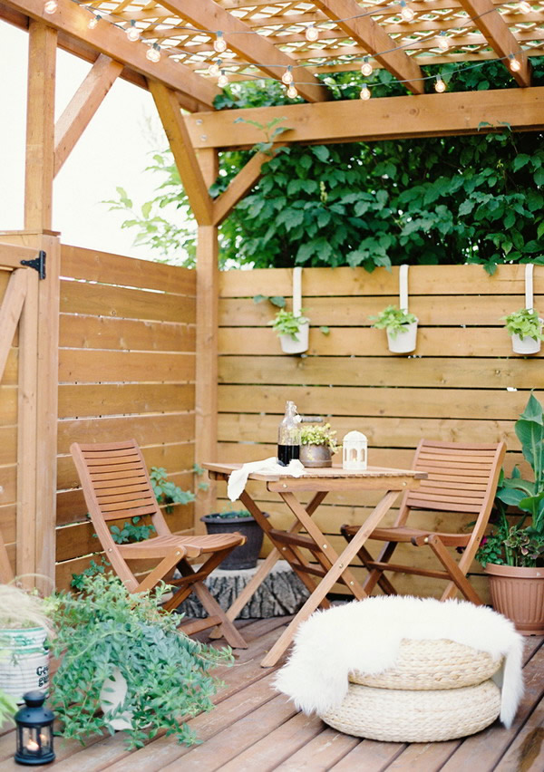 8 Simple And Elegant Ideas For Patios - Everybody Would Love It!