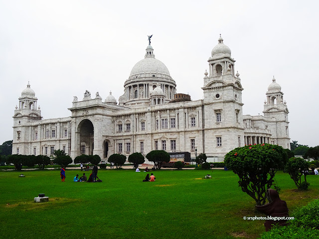 Beautiful View of Victoria Memorial Museum, Kolkata