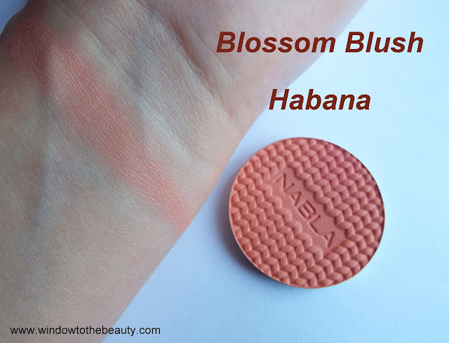 nabla blushes swatches