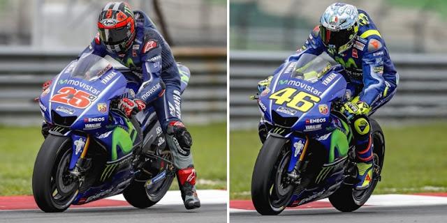 Manajer tim Movistar Yamaha beberkan perbedaan Rossi dan Vinales