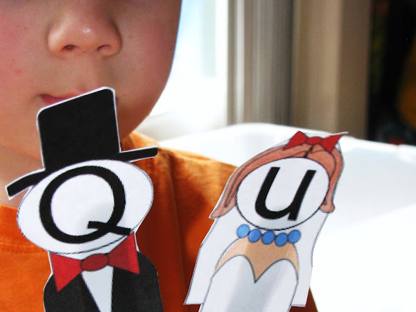 Letter of the Week: Q (Including Free Q and U Get Married Printable)