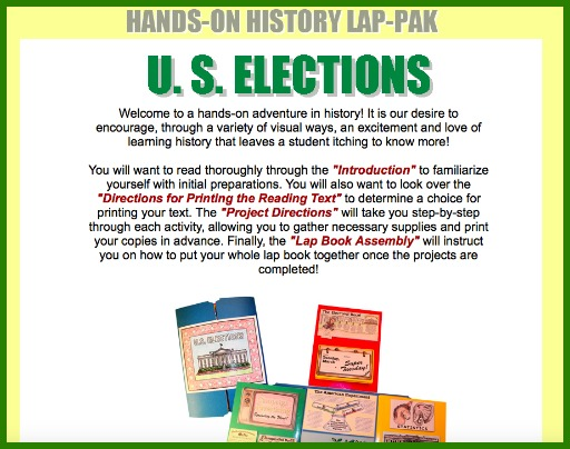 Hands-on US elections