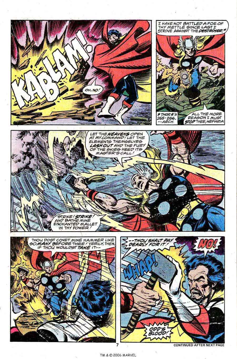 Avengers #166 marvel 1970s bronze age comic book page art by John Byrne