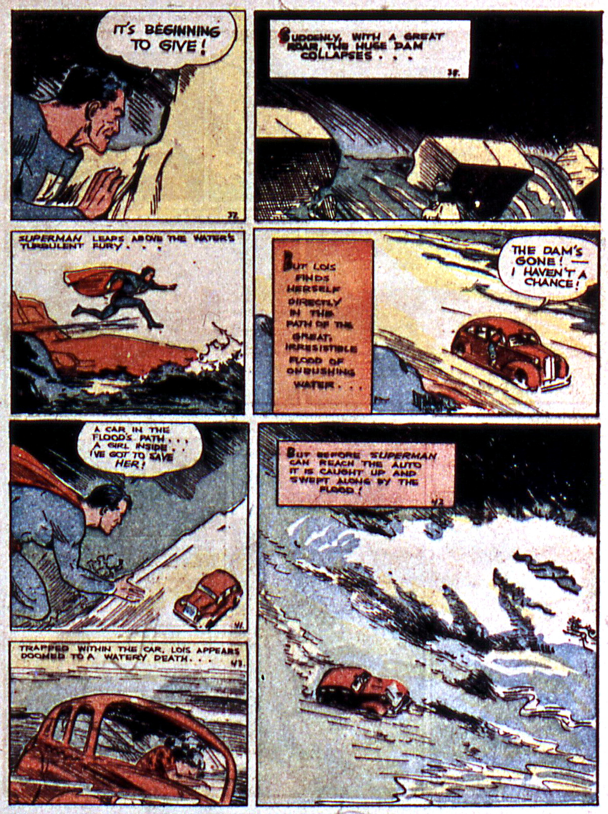 Read online Action Comics (1938) comic -  Issue #5 - 9