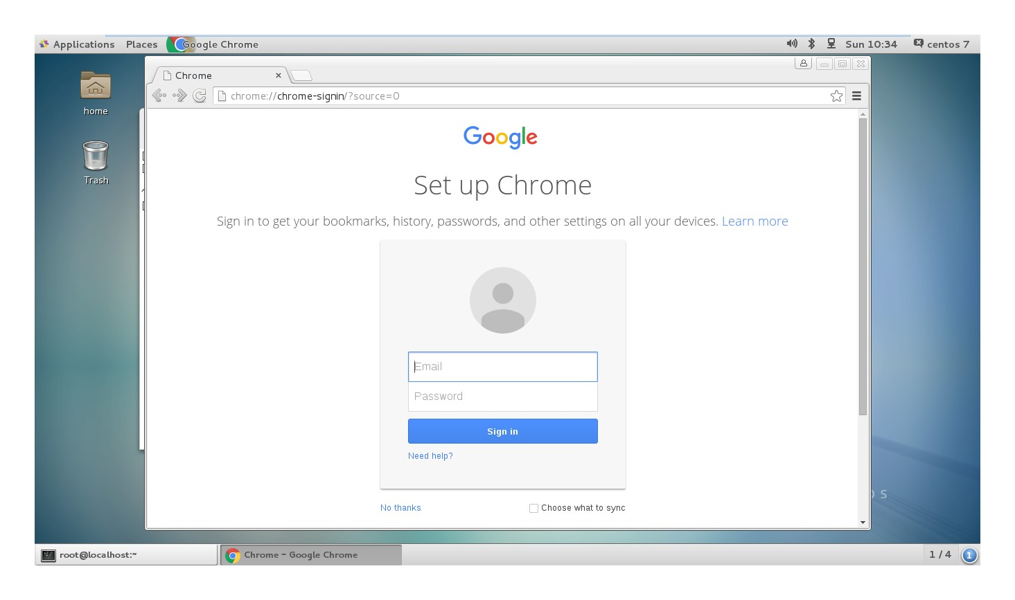 How to install Google Chrome on CentOS/Red hat (RHEL) 7