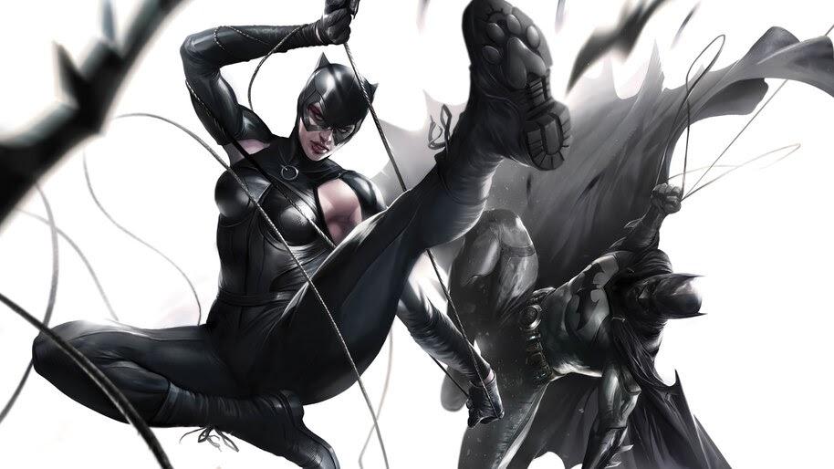 Catwoman and Batman, DC, Comics, 4K, #6.1967