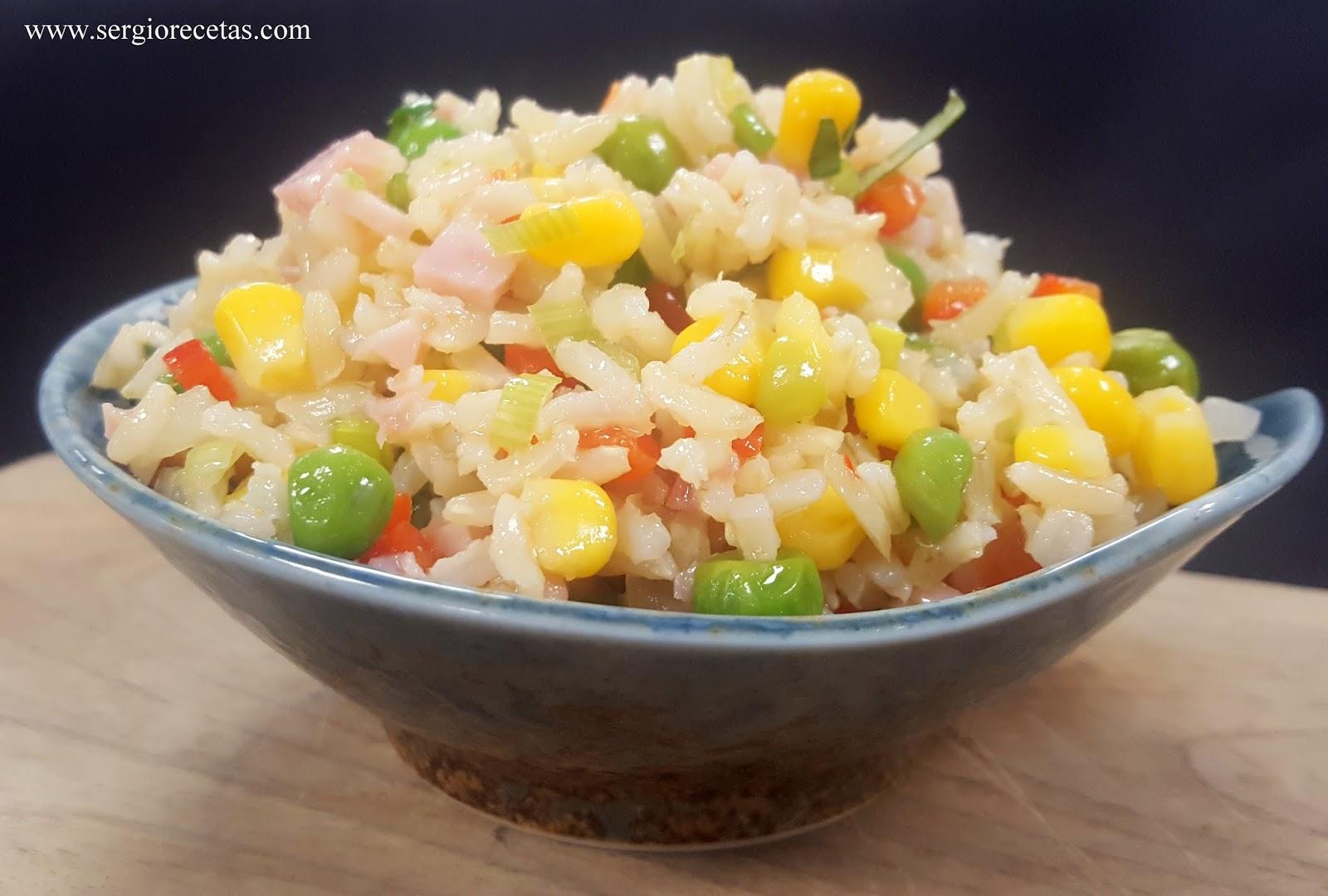 Realfood ensalada de arroz integral - Ensalada de arroz light ...